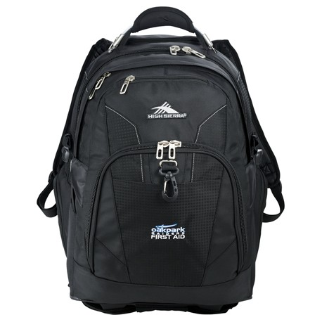 "High Sierra® Elite Wheeled 17"" Computer Backpack"