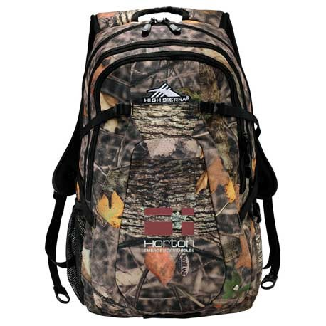 "High Sierra® Fallout Camo 17"" Computer Backpack"