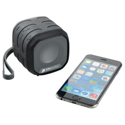 High Sierra® Grizzly Outdoor NFC Bluetooth Speaker