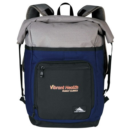 "High Sierra® Tethur Rolltop 15"" Computer Backpack"