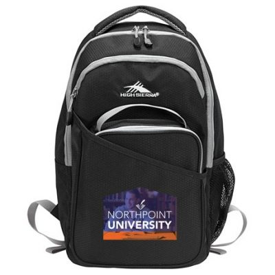 "High Sierra 15"" Computer Backpack w/ Lunch Cooler"