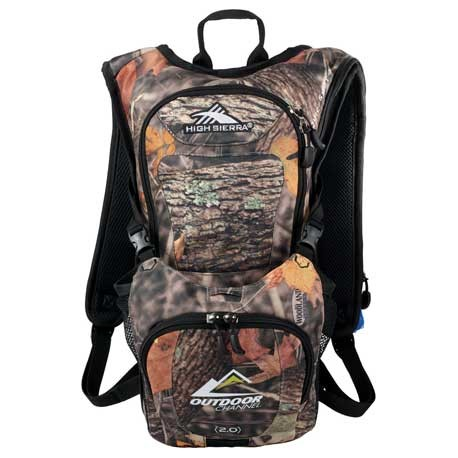 High Sierra® Quickshot King's Camo Hydration Pack