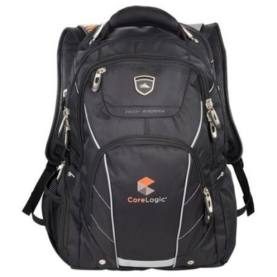 "High Sierra Elite Fly-By 17"" Computer Backpack"