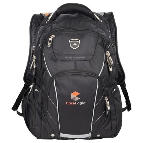 "High Sierra Elite Fly-By 17"" Computer Backpack"